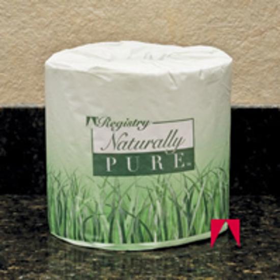 Picture of Naturally Pure, Bath Tissue, White - GP