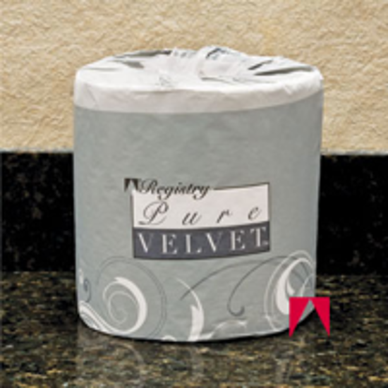 Picture of Pure Velvet, Bath Tissue, White - GP