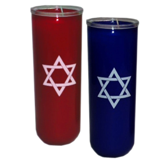 Picture of 7-Day Star of David Candles