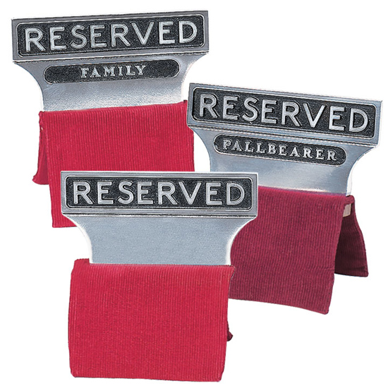 Picture of Reserved Seat Signs (Aluminum)