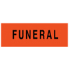 Picture of Windshield Funeral Stickers