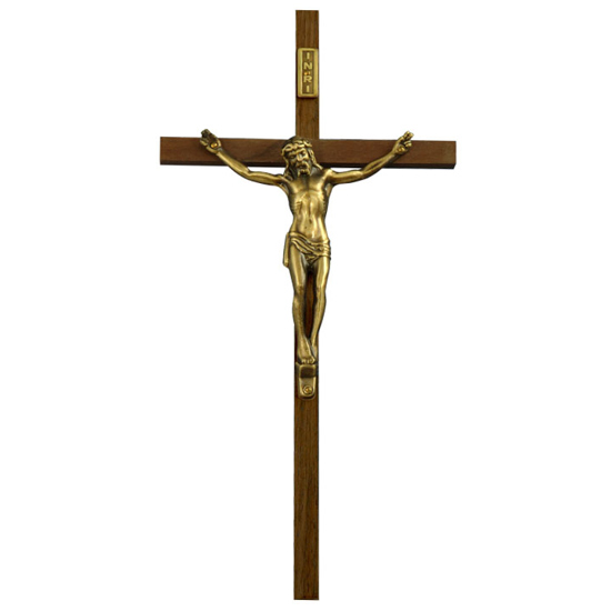 Picture of Walnut Cross with Corpus