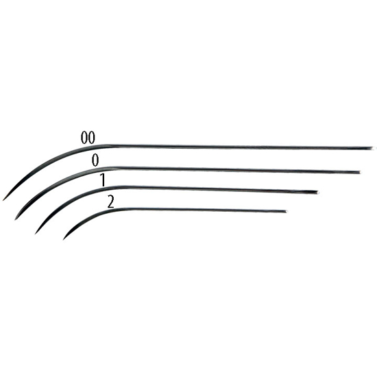 Picture of PM Needles (Half Curved Cutting Edge)