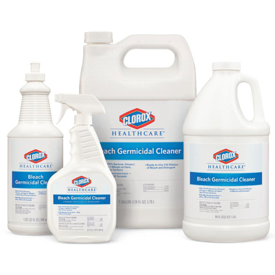 Picture of Clorox Healthcare Germicidal Cleaner (With Bleach)