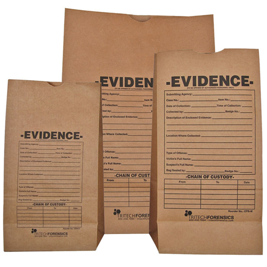 Picture of Paper Evidence Bags