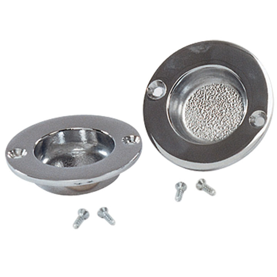 Picture of F534 Recessed Post Cups, pair