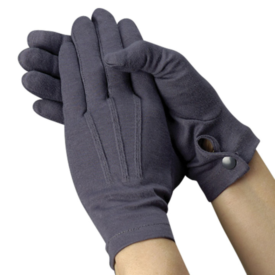 Picture of Gray Pallbearer Gloves (Full Fashion Snap Wrist)