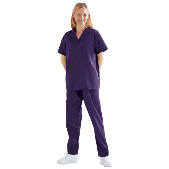 Picture of Scrub Top (Rich Purple)
