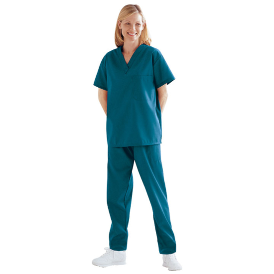Picture of Scrub Pants (Caribbean Blue)