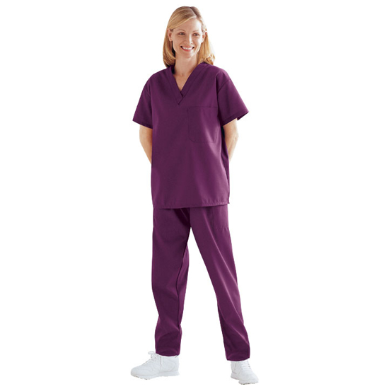 Picture of Scrub Pants (Wine)