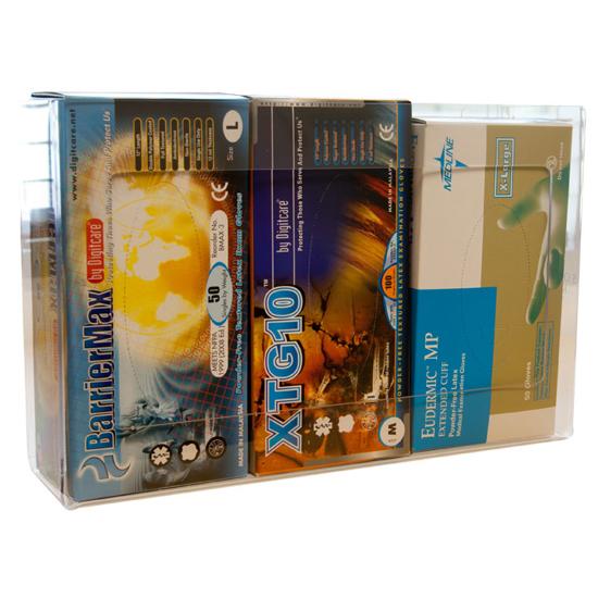 Picture of Plexiglass Glove Holder (Triple Box)