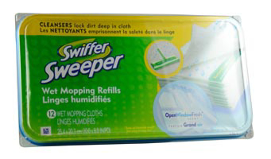 Picture of Swiffer® Sweepers, Wet Refill Cloths (HB)