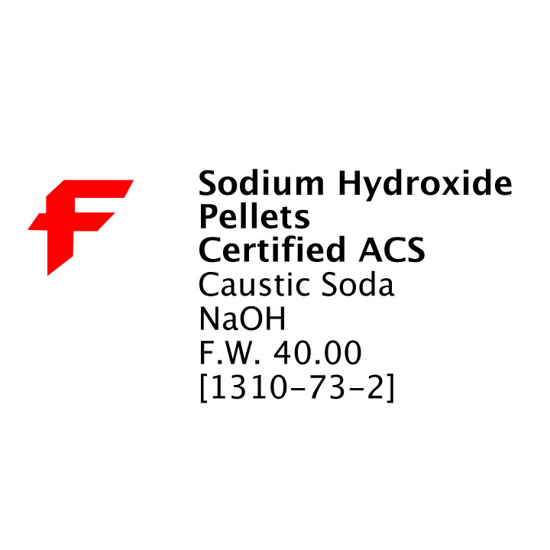 Picture of Sodium Hydroxide Pellets (CD)