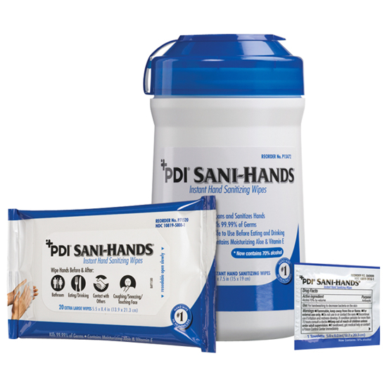 Picture of PDI® Sani-Hands™ Antimicrobial Hand Wipes