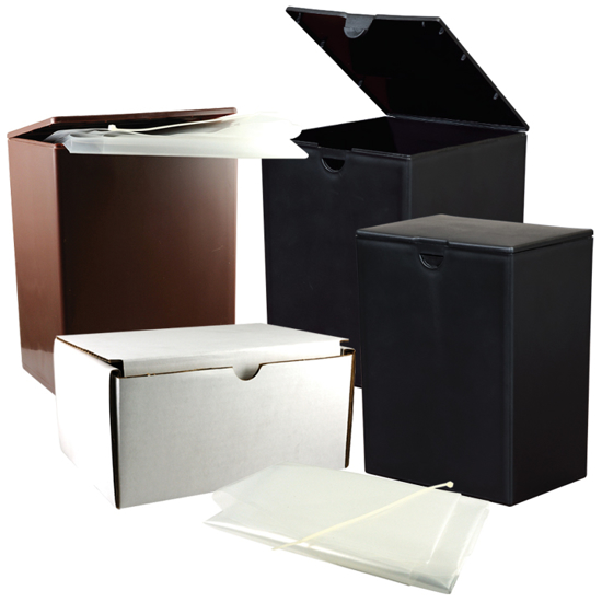 Picture of Temporary Plastic Urn & Shipper