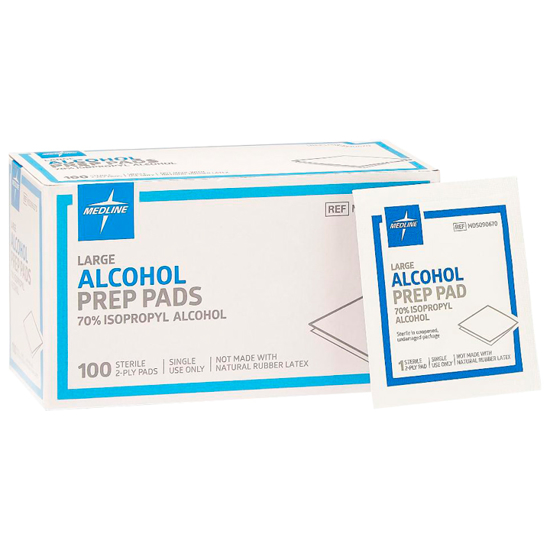 Picture of Alcohol Prep Pads