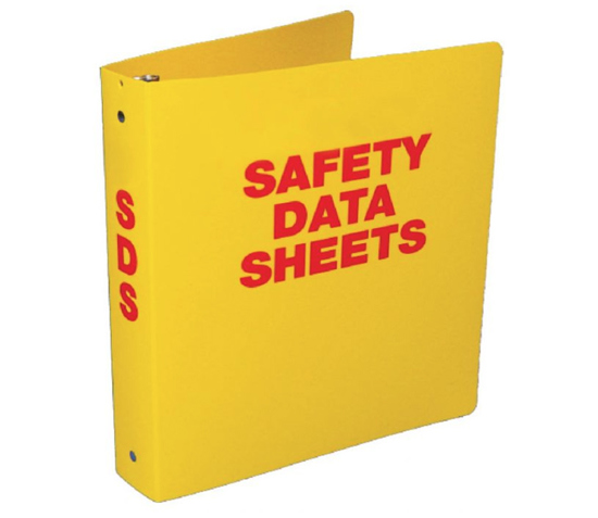 Picture of SDS Binder