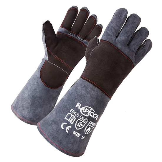"""Picture of Heat Resistant Gloves, 16"""""""