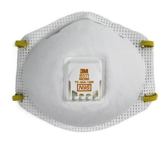 Picture of 3M N95 Respirator with Cool Flow Valve